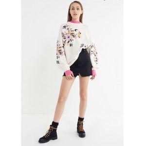 Urban Outfitters Verona Balloon Sleeve Sweater NWT
